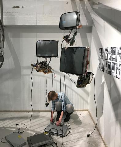 Normal galleri gro natalia egorova exhibition foto joakim hansson