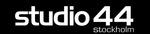 Sidebar loga studio44 black bg