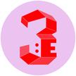 Profile 3van cirkel rosa rod