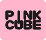 Sidebar pink cube logo 1